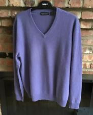 Men's Neimans Marcus Virgin Cashmere Sweater Sz XL