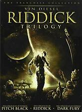 Riddick Trilogy (Pitch Black / The Chronicles of Riddick: Dark Fury / The Chroni