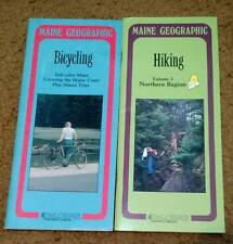 DeLorme Maine Geographic HIKING #3 Northern & Bicycling w/Maps