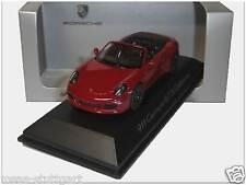 Porsche Carrera GTS cabriolet rouge-schuco 1:43 - wap0201010f-NEUF & OVP