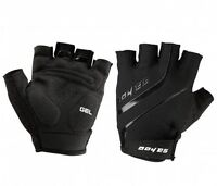 Bicycle Bike Half Finger Cycling Gloves MTB Fingerless Sport Short Mitts Black