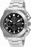 Invicta Pro Diver 23400 Men's Round Black Carbon Chronograph Date Analog Watch