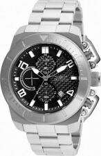 Invicta Pro Diver 23400 Men's Round Black Carbon Chronograph Date Analog Watch
