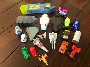 MICRO MACHINES Star Wars CARS Chargers BULK LOT Bundle TRAIN Plane TRACTOR Set