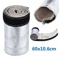 Heat Shield Thermal Sleeve Insulation Wire Hose Cover 2Ft X 4.2 For Pipe Cables