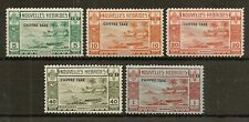 NEW HEBRIDES FRENCH 1938 POSTAGE DUE SGFD65/9 MNH