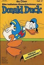 Die tollsten Geschichten von Donald Duck (Heft 37) Zustand 1-2