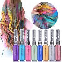 Temporäre Farbe Haarfärbemittel Mascara Haarkreide ungiftig Salon Neu