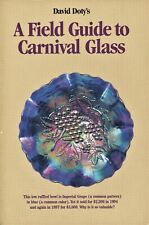 Carnival Glass - Makers Patterns Shapes Values Etc. / Scarce Illustrated Book