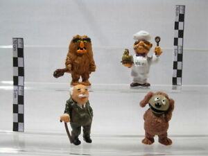Muppet Show Schleich 1974:  4 Figuren  Waldorf Koch Rowlf Sweetums  60350