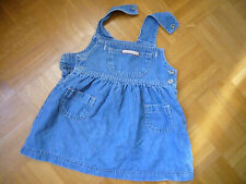 aus USA C&A kleiner Mädchen Trägerrock, Jeans, Rock, Gr. 74 / USA.9  Mo,