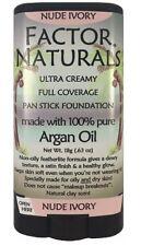Factor Naturals Nude Ivory 121 pan stick foundation w/Argan oil (not max factor)