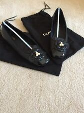 CHANEL 100% Leather Ballet Flats for Women