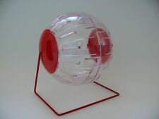 Hamster Large Play Ball on Stand Running 17cm Mouse Gerbil Toys Animal Supplies