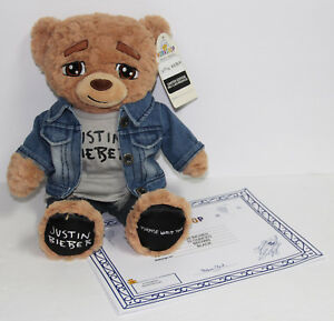 Justin Bieber Limited Edition Purpose World Tour Jacket Exclusive Build-A-Bear