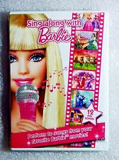 Brand New Gift Ready Sing Along with Barbie WS DVD 3 Lang EN SP FR Movie Scenes