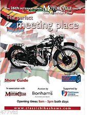 International Classic Motorcycle Show April 2006. Rudge 4 Valve Single