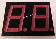 4 Stück HA2151R SIEMENS - 2stellige LED Anzeige 19mm hoch