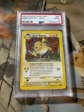 PSA 9 Dark Raichu Holo Team Rocket Pokemon 2000