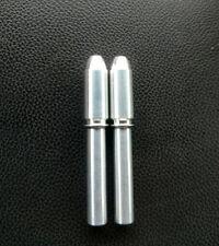 BULLET-BILLET-ALUMINUM-DOOR-LOCK-KNOBS-CHEVY 73-87 C-10 K-10 TRUCK (PAIR)