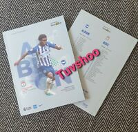 Brighton v Liverpool CHAMPIONS VERY LIMITED Programme 8/7/20!IMMEDIATE DISPATCH!
