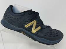 New Balance Minimus Men Running Shoe Size 11.5 2E Wide Black Minimalist Barefoot