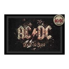 Foot Mats/Carpet - AC/Dc - Rock Or Bust (40 X 60 CM) 100872