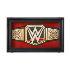 Official WWE Authentic Replica  Championship Title Belt Display Case Red