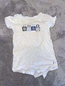 Hugo Boss Baby Boy 6 Months Romper