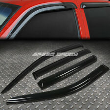 FOR 07-16 COMPASS MK49 SMOKE TINT WINDOW VISOR/WIND DEFLECTOR VENT RAIN GUARD