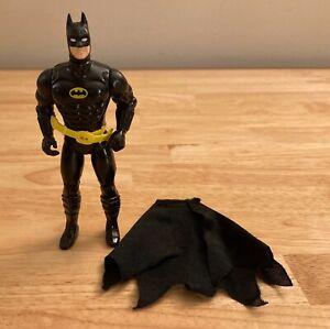 Vintage 1989 Batman Action Figure w/ Cape - DC Super Heroes - ToyBiz
