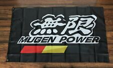 New Mugen Power Banner Flag 3x5 Japanese Car Parts Racing Motorsports Honda
