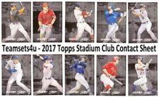 Carte collezionabili baseball, - senza marca/generico-Stagione 2017