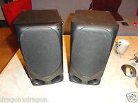 2x Kenwood LS-A3 Stereo Lautsprecher / Boxen, 45 Watt, 2 Jahre Garantie