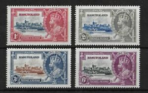 BASUTOLAND 1935 Mint LH Silver Jubilee Complete Set of 4 SG #11-14