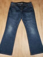 #205 Lucky Brand Sweet Boot Jeans Womens Tagged 10/30 R Distressed Stretch Denim