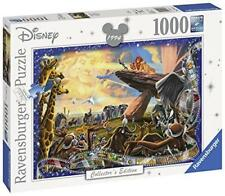 New Ravensburger Disney Collector's Edition Lion King 1000 Piece Jigsaw Puzzle