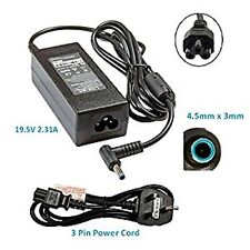 Hp Pavilion Envy Beats Audio Laptop Blue Tip Pin Charger Power Supply 19.5v3.3A