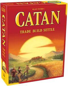 Catan El Juego de Mesa 5th Edición Trade Construye Cremallera [ Mesa,3-4