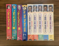 The DICK VAN DYKE Show Five pack VHS Factory Sealed With 4 Bonus VHS Tapes