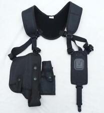 More details for protec black covert harness covert vest & cs baton cuffs pouch ch01a