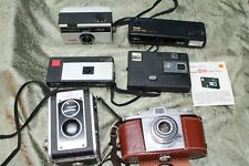 6 vintage cameras Kodak cameras