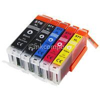 5 XL Druckerpatronen Tinte PGI 570 CLI 571 mit Chip für den Drucker Pixma MG5750