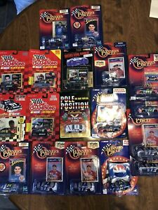Jeff Gordon Diecast Lot Winners Circle Lot Of 18 Sprint Superman Baby Ruth Pepsi