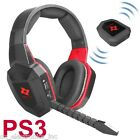 Wireless Gaming Stereo Headset for PS3 Playstation 3 Game Sound Chat NEW GD