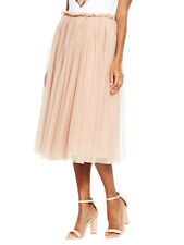 V by Very Tulle Skirt in Nude Size 12