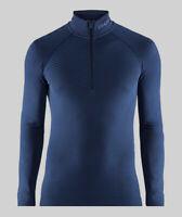 Funktionsshirt CRAFT Active Intensity Zip, Herren, Kompression, schwarz blau