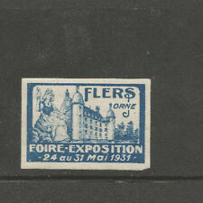 France/Flers 1931 Trade Fair stamp/label