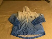 Harry Potter Boys  Wind Breaker Jacket Blue And White Small Size 100% Polyester