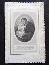 Image pieuse, Canivet Saint Joseph époux de Marie Letaille  Paris Holy card